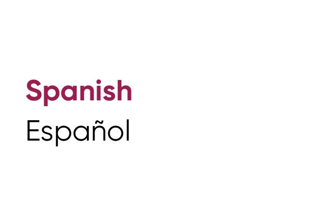 Language Tile Spanish